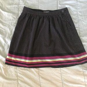 Old Navy Polka Dot & Striped Skirt